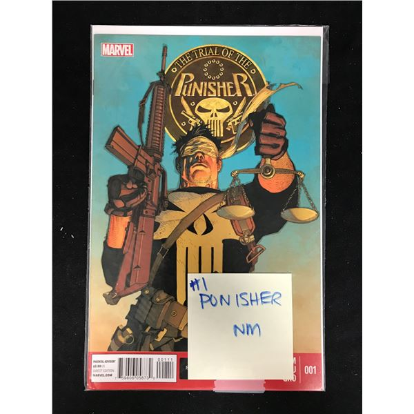 The Trial of The PUNISHER #001 (MARVEL)