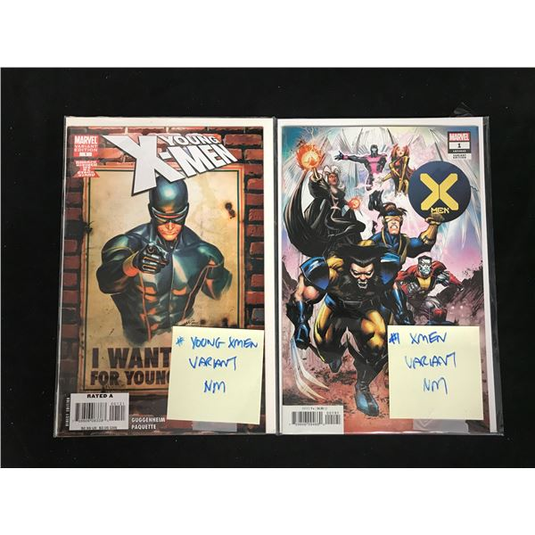X-MEN VARIANT COMIC BOOK LOT (MARVEL)