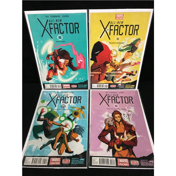 ALL NEW X-FACTOR #1-4 (MARVEL NOW!)