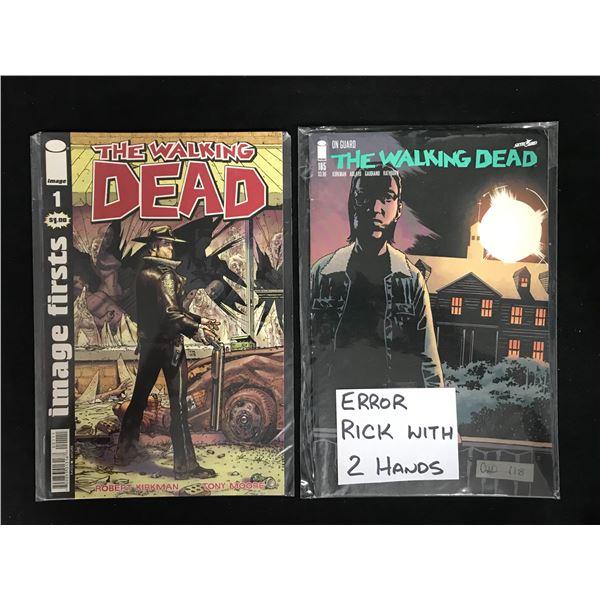 THE WALKING DEAD COMIC BOOK LOT (IMAGE COMICS)