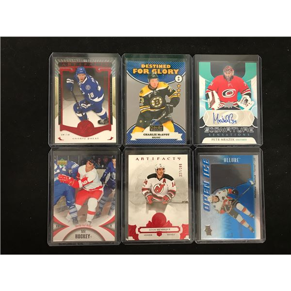 ASSORTED HOCKEY CARD LOT (ARTIFACTS, AUTOS...)