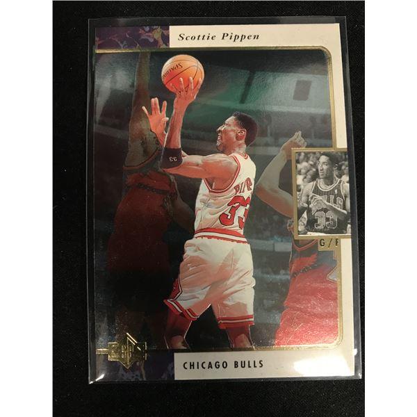 1995-96 Upper Deck SP #21 Scottie Pippen