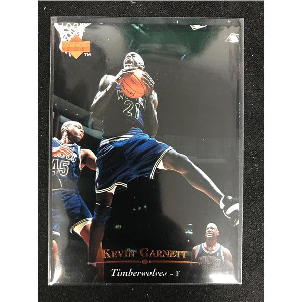 1995-96 Upper Deck Kevin Garnett #273 Rookie
