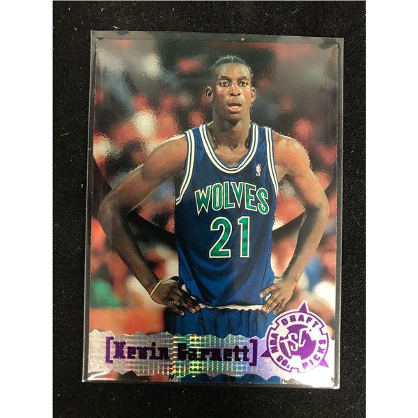 1995-96 Topps #343 Kevin Garnett RC