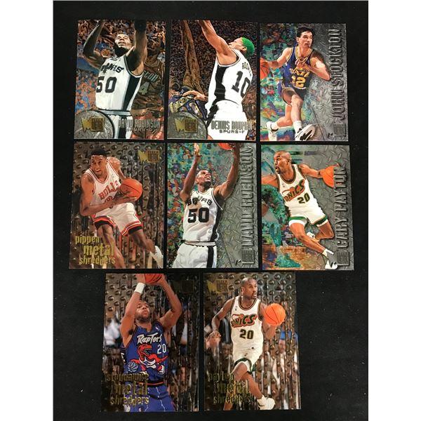 1996-97 Fleer Metal Basketball Card Lot