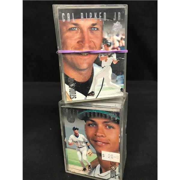 1996 LEAF STUDIOS BASEBALL CARD LOT