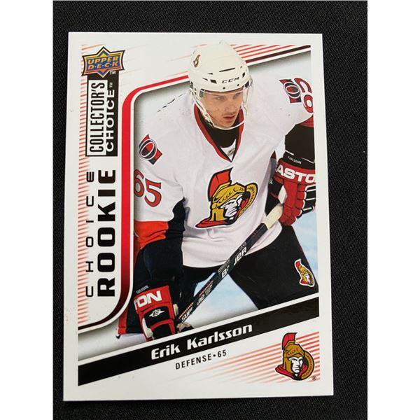 2009-10 UD Collectors Choice ROOKIE RESERVE #279 Erik Karlsson Ottawa Senators