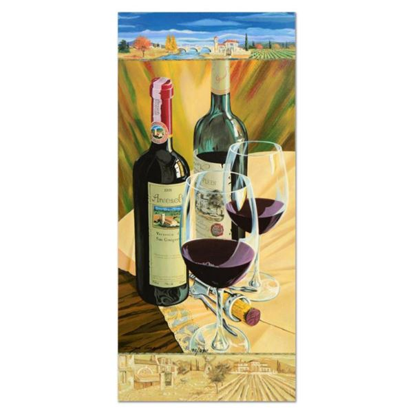"""Dima Gorban, """"Celebration"""" Limited Edition Serigraph, Numbered and Hand Signed with Certificate of A"""