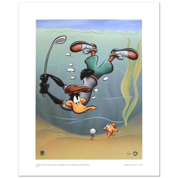 """""""Underwater Daffy"""" Limited Edition Giclee from Warner Bros., Numbered with Hologram Seal and Certifi"""