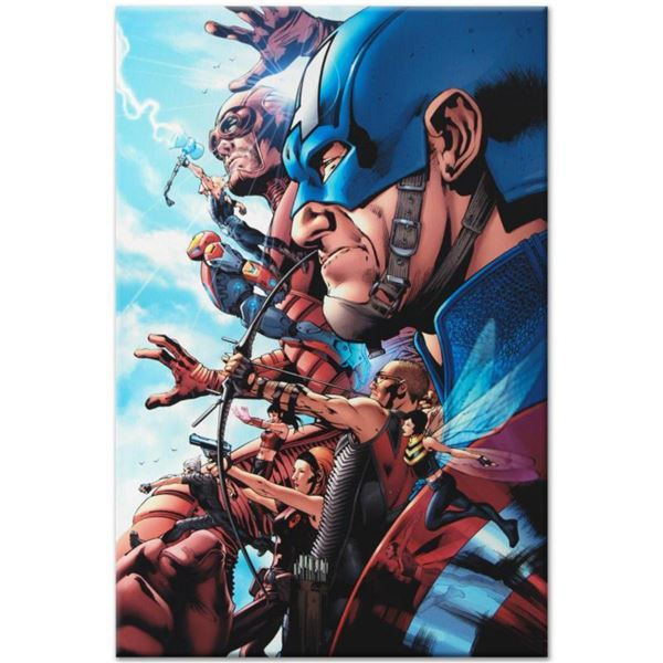 """Marvel Comics """"Avengers #1"""" Numbered Limited Edition Giclee on Canvas by Bruce Timm with COA."""