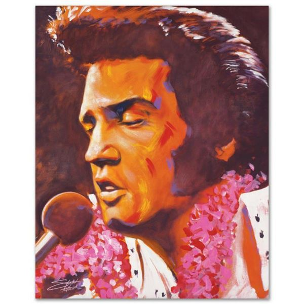 """""""Aloha"""" Limited Edition Giclee on Canvas by Stephen Fishwick, Numbered and Signed. This piece comes"""