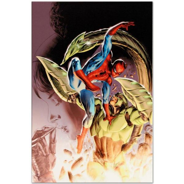 """Marvel Comics """"Heroes For Hire #8"""" Numbered Limited Edition Giclee on Canvas by Doug Braithwaite wit"""