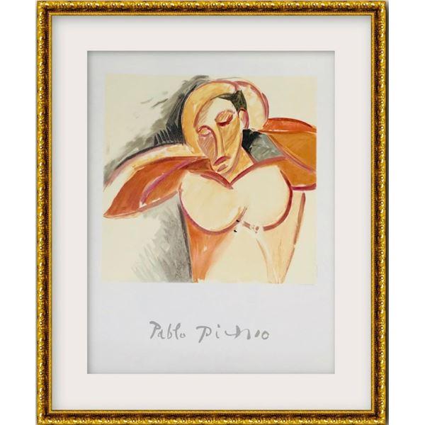 """Pablo Picasso- Lithograph on Arches Paper """"Etude pour le Nu"""""""