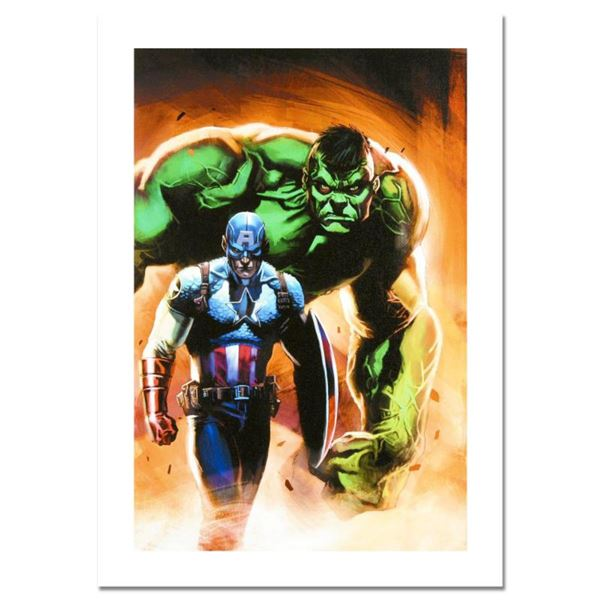"""Marvel Comics, """"Ultimate Origins #5"""" Numbered Limited Edition Canvas by Gabriele Dell'Otto with Cert"""