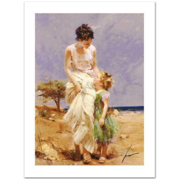 """Pino (1939-2010) """"Joyful Memories"""" Limited Edition Giclee. Numbered and Hand Signed; Certificate of"""