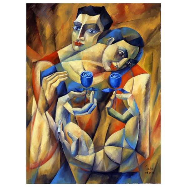 """Yuroz, """"The Preservation Of Love"""" Hand Signed Limited Edition Serigraph on Canvas with Certificate o"""
