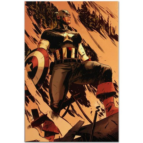 """Marvel Comics """"Operation Zero-Point #1"""" Numbered Limited Edition Giclee on Canvas by Mitchell Breitw"""