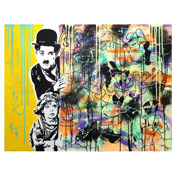 "Nastya Rovenskaya- Original Oil on Canvas ""Hidding"""