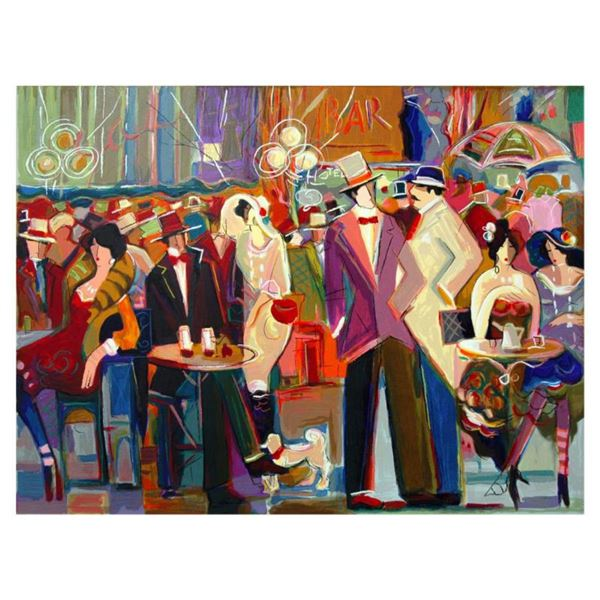 """Isaac Maimon, """"La Grande Barre"""" Limited Edition Serigraph, Numbered and Hand Signed with Letter of A"""