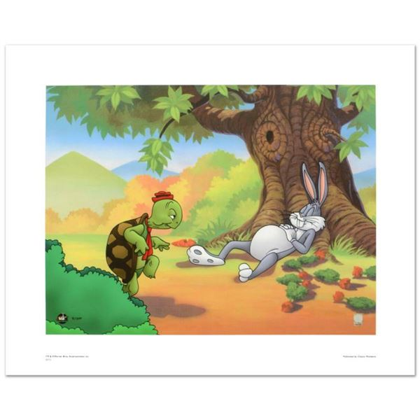Snooze, You Lose  Limited Edition Giclee from Warner Bros., Numbered with Hologram Seal and Certifi