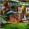 """Image 2 : Anatoly Metlan, """"Greenhouse"""" Framed Limited Edition Serigraph, Numbered 232/480 and Hand Signed with"""