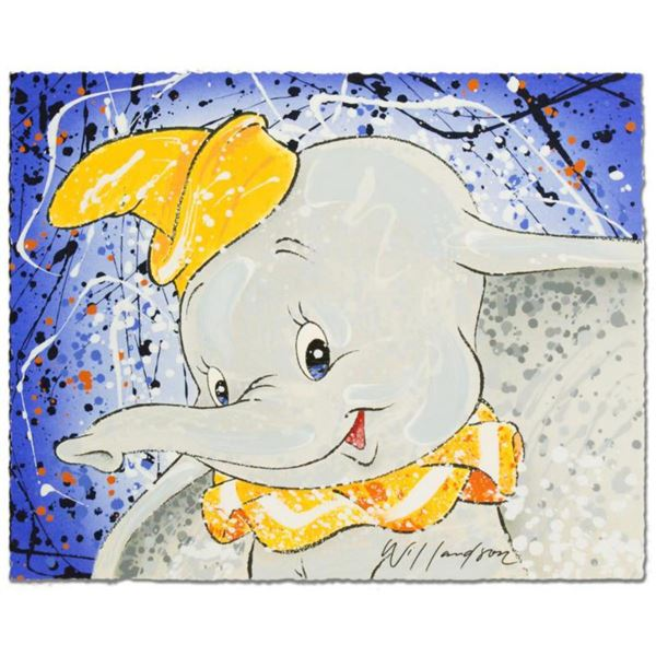 """""""Keep It Under Your Hat"""" Disney Limited Edition Serigraph by David Willardson, Numbered and Hand Sig"""