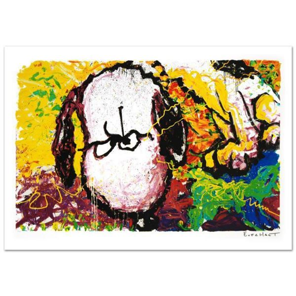 Are You Talking to Me?  Limited Edition Hand Pulled Original Lithograph (36  x 22.5 ) by Renowned C