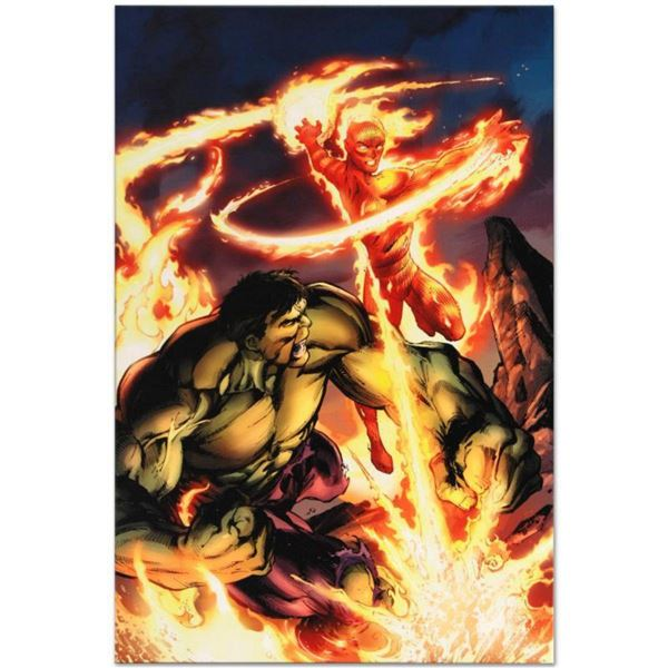 Marvel Comics  Incredible Hulk & The Human Torch: From the Marvel Vault #1  Numbered Limited Edition