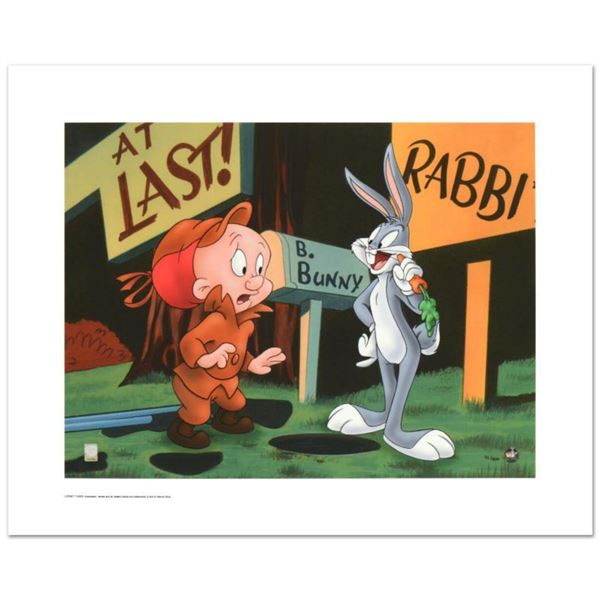 """""""Rabbit Season"""" Limited Edition Giclee from Warner Bros., Numbered with Hologram Seal and Certificat"""