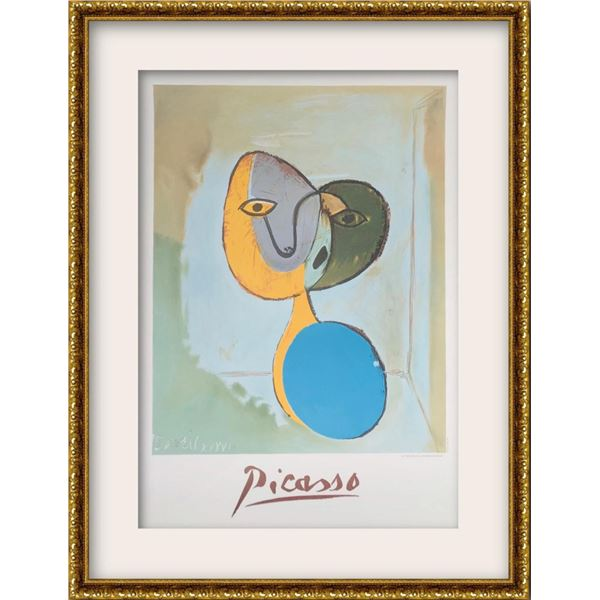 """Pablo Picasso- Lithograph on Arches Paper """"Figure (Portrait of Marie Therese Walter)"""""""