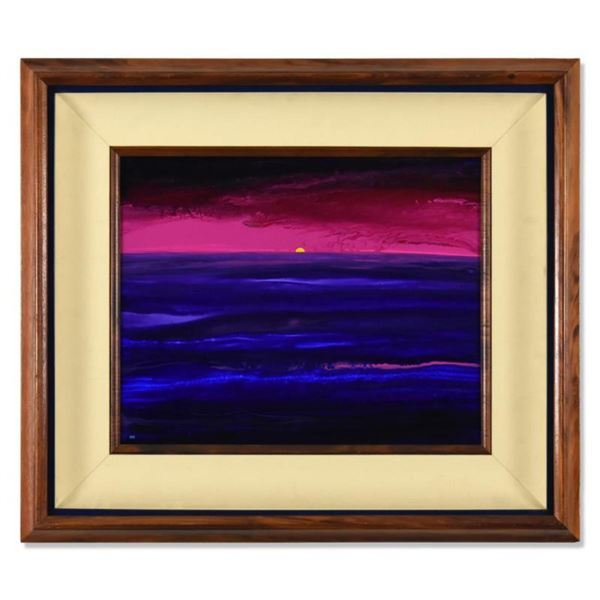 """Wyland, """"Dreams Of Summer"""" Framed Original Acrylic Painting on Masonite, Hand Signed with Letter of"""