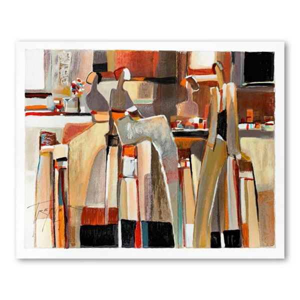 Yuri Tremler, Hand Signed Limited Edition Serigraph on Paper with Letter of Authenticity.