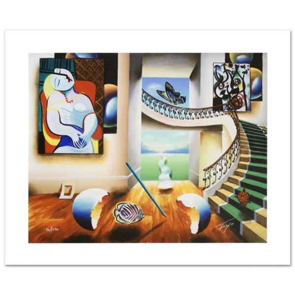 """""""Dreaming"""" Limited Edition Giclee on Canvas by Ferjo, Numbered and Hand Signed by the Artist. Includ"""
