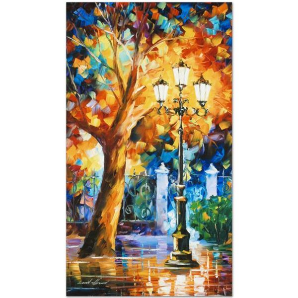 """Leonid Afremov (1955-2019) """"Romantic Aura"""" Limited Edition Giclee on Canvas, Numbered and Signed. Th"""
