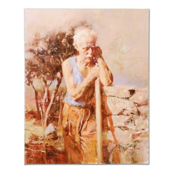 """Pino (1939-2010), """"A Day in the Field"""" Artist Embellished Limited Edition on Canvas, AP Numbered and"""