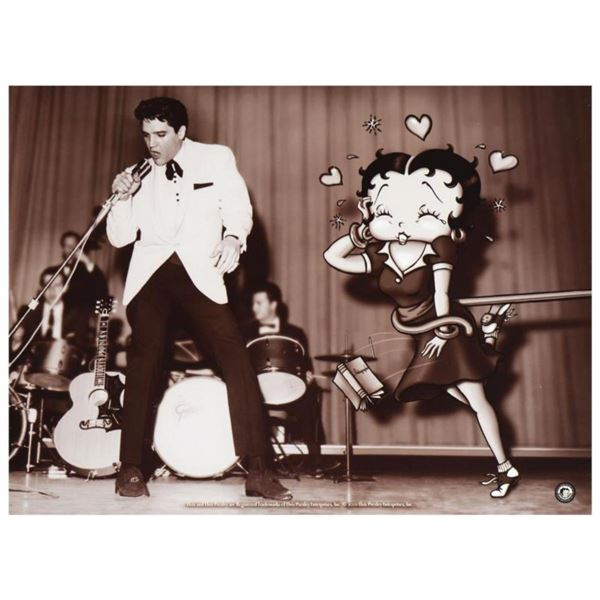 """""""Starstruck Betty (with Elvis)"""" Limited Edition Lithograph from King Features Syndicate, Inc., Numbe"""