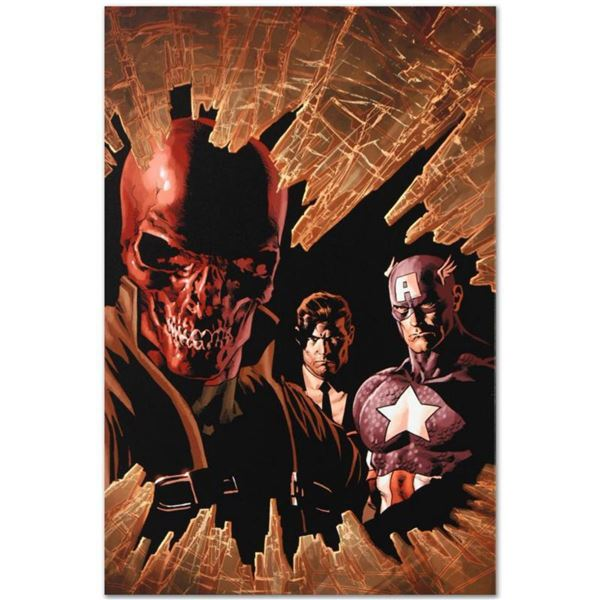"""Marvel Comics """"New Avengers #12"""" Numbered Limited Edition Giclee on Canvas by Mike Deodato Jr. with"""