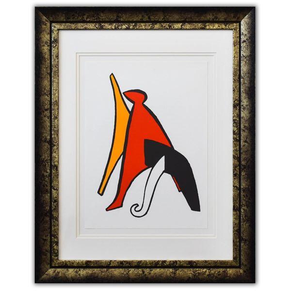 """Alexander Calder- Lithograph """"DLM141 - Sabot et bonnet phrygien"""""""