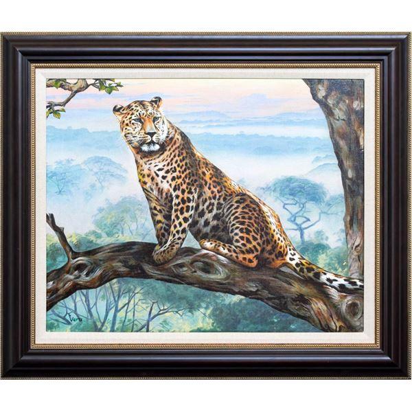"""Vera V. Goncharenko- Original Oil on Canvas """"Preparedness"""""""