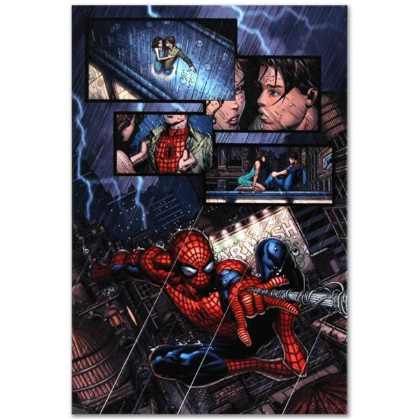 """Marvel Comics """"Ultimatum #1"""" Numbered Limited Edition Giclee on Canvas by David Finch with COA."""