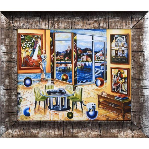 "Alexander Astahov- Original Giclee on Canvas ""The Historian"""