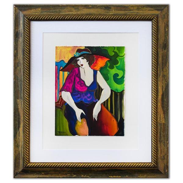 "Patricia Govezensky- Original Watercolor ""Gonny"""