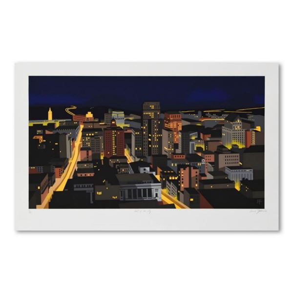 """Armond Fields (1930-2008), """"Heart of the City"""" Limited Edition Hand Pulled Original Serigraph, Numbe"""