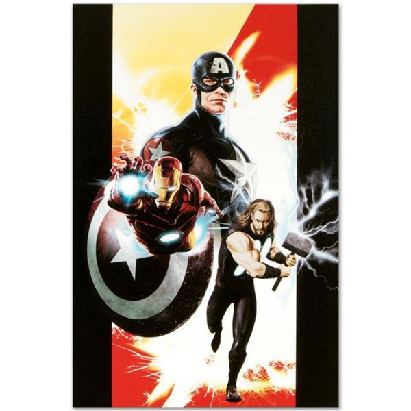 """Marvel Comics """"Ultimates #1"""" Numbered Limited Edition Giclee on Canvas by Kaare Andrews with COA."""