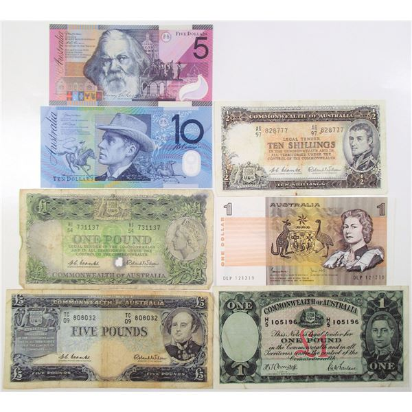 Commonwealth of Australia, Group of Issued Banknotes