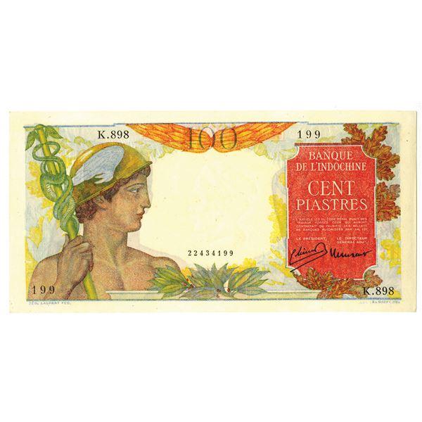 Banque de l'Indochine. ND (1947-1949) Issue Banknote.