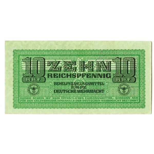 Deutsche Wehrmacht. ND (1942). Issued Note.