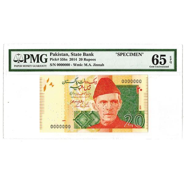 State Bank of Pakistan. 2014. Specimen Note.