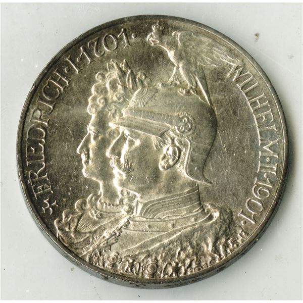 Germany. 1901. 5 Marks Silver Coin