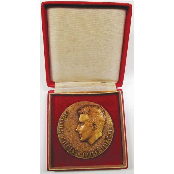 Julius Fu_Õk Commemorative Medal